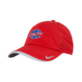 Nike Dri Fit Red Perforated Hat-Utility