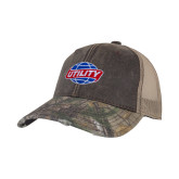 Realtree Edge Brown Mesh Back Structured Hat-Utility