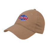 Khaki Twill Unstructured Low Profile Hat-Utility