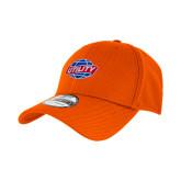 New Era Orange Diamond Era 39Thirty Stretch Fit Hat-Utility