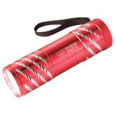 Astro Red Flashlight-Heavy Duty Parts Horizontal Engraved