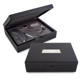 Grigio 5 Piece Professional Wine Set-Heavy Duty Parts Horizontal Engraved