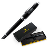 Cross Aventura Onyx Black Rollerball Pen-Heavy Duty Parts Horizontal Engraved