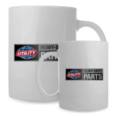 Full Color White Mug 15oz-Heavy Duty Parts Horizontal