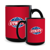 Full Color Black Mug 15oz-Utility
