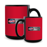 Full Color Black Mug 15oz-Heavy Duty Parts Horizontal
