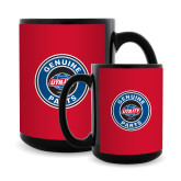 Full Color Black Mug 15oz-Genuine Parts