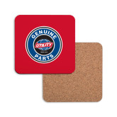 Hardboard Coaster w/Cork Backing-Genuine Parts