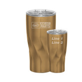 Hugo Vacuum Insulated Copper Tumbler 20oz-Heavy Duty Parts Horizontal Engraved, Personalized
