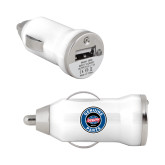 On the Go White Car Charger-Genuine Parts