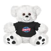 Plush Big Paw 8 1/2 inch White Bear w/Black Shirt-Utility