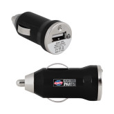 On the Go Black Car Charger-Heavy Duty Parts Horizontal
