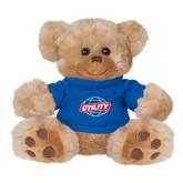 Plush Big Paw 8 1/2 inch Brown Bear w/Royal Shirt-Utility