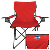 Deluxe Red Captains Chair-Utility