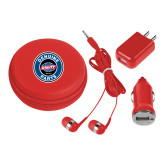 3 in 1 Red Audio Travel Kit-Genuine Parts