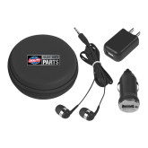 3 in 1 Black Audio Travel Kit-Heavy Duty Parts Horizontal