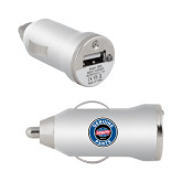 On the Go Silver Car Charger-Genuine Parts