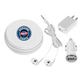 3 in 1 White Audio Travel Kit-Genuine Parts
