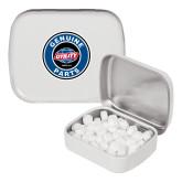 White Rectangular Peppermint Tin-Genuine Parts