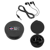 Ear Buds in Black Case-Heavy Duty Parts Horizontal