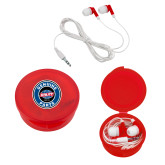 Ear Buds in Red Case-Genuine Parts