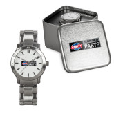 Mens Stainless Steel Fashion Watch-Heavy Duty Parts Horizontal