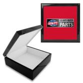 Ebony Black Accessory Box With 6 x 6 Tile-Heavy Duty Parts Horizontal