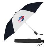 42 Inch Slim Stick Black/White Vented Umbrella-Utility