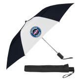 42 Inch Slim Stick Black/White Vented Umbrella-Genuine Parts