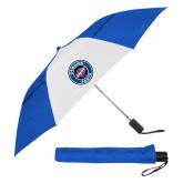 42 Inch Slim Stick Royal/White Vented Umbrella-Genuine Parts