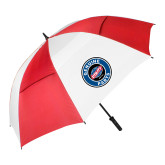62 Inch Red/White Vented Umbrella-Genuine Parts