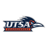 Large Decal-UTSA Roadrunners w/ Head Flat, 12 in wide
