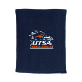 Navy Rally Towel-Primary Logo