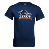 Navy T Shirt-Baseball