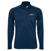 Syntrel Navy Interlock 1/4 Zip-UTSA Roadrunners w/ Head Flat