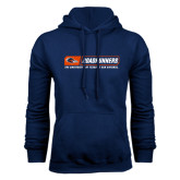 Navy Fleece Hood-Roadrunners Bar w/ Head