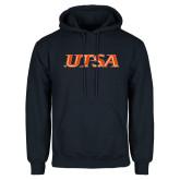 Navy Fleece Hoodie-UTSA