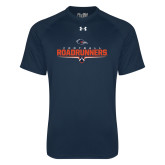 Under Armour Navy Tech Tee-Roadrunners Football Underline