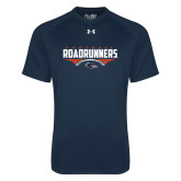 Under Armour Navy Tech Tee-Roadrunners Football Horizontal