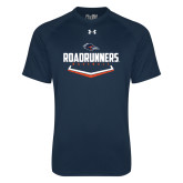 Under Armour Navy Tech Tee-Roadrunners Baseball Plate