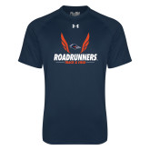 Under Armour Navy Tech Tee-Roadrunners Track & Field Wings