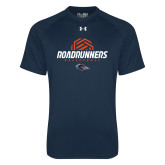 Under Armour Navy Tech Tee-Roadrunners Volleyball Geometric Ball