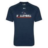 Under Armour Navy Tech Tee-Volleyball Bar