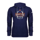 Adidas Climawarm Navy Team Issue Hoodie-Roadrunner Head