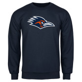 Navy Fleece Crew-Roadrunner Head