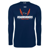 Under Armour Navy Long Sleeve Tech Tee-Roadrunners Track & Field Wings