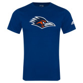 Adidas Navy Logo T Shirt-Roadrunner Head
