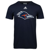 Adidas Climalite Navy Ultimate Performance Tee-Roadrunner Head