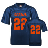 Replica Navy Adult Football Jersey-#22