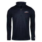 Russell Navy Heather 1/4 Zip-UTSA Roadrunners w/ Head Flat